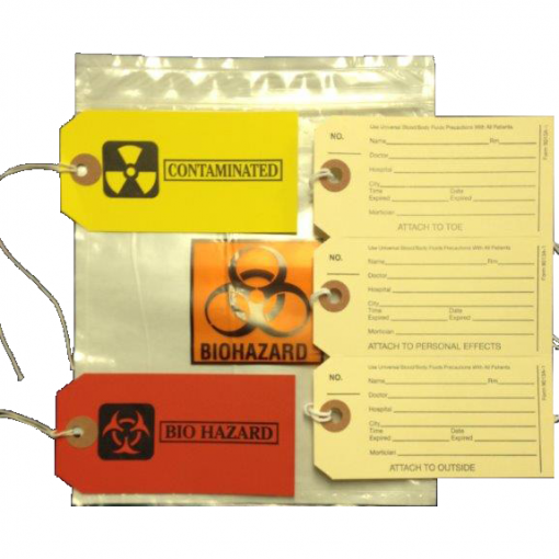 Body Bag / Cadaver Pouch ID Kit