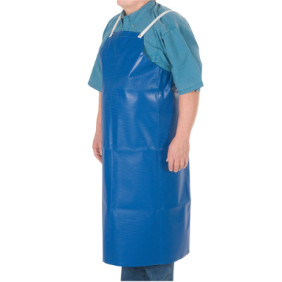 Blue Heavy Vinyl Long Apron