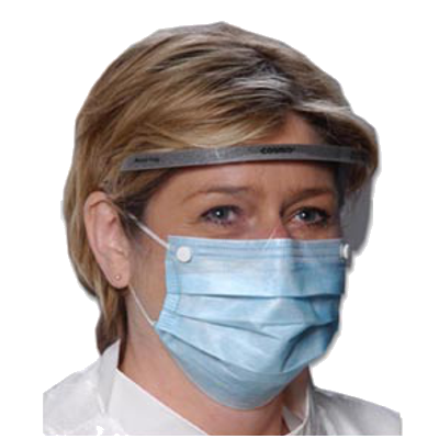Critical Cover® Combo® Mask with Shield