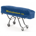 FirstCall Plush Fabric Cot Cover Navy Blue