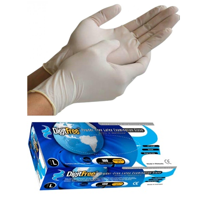 Standard Cuff Latex Exam Glove