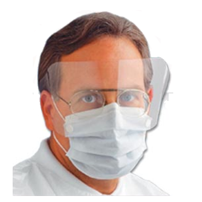 Ear Loop Isolation Mask & Shield