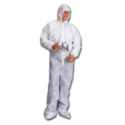 polypropylene spunbond coveralls with hood boots
