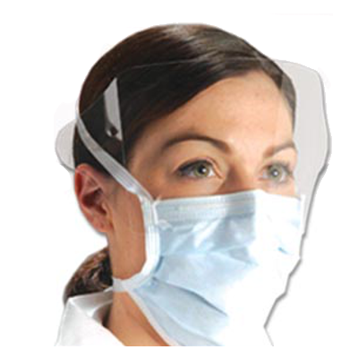 Tie Back Isolation Mask & Shield