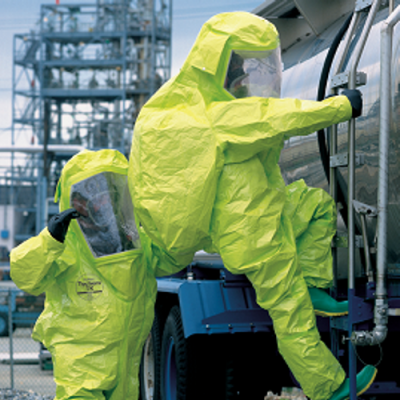"Tychem TK ® Level ""A"" Encapsulated Suit"