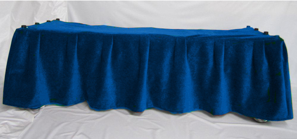 FirstCall Church Truck Drape (Navy Blue)