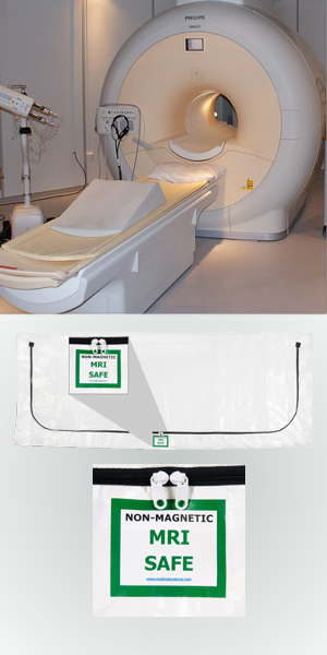 MRI Safe Cadaver Pouch